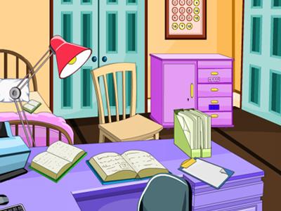 play Gracegirls Messy Study Room Escape