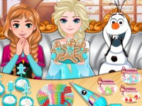 Frozen Gingerbread game