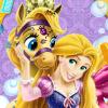 play Enjoy Rapunzel'S Messy Pony