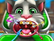 Talking Tom At The Doctor game