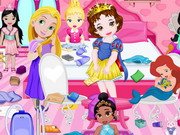 Baby Princess Room Cleaning game