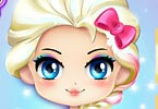 Chibi Elsa Modern Makeover game