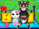 Daddy Tom And Kid Care Game game