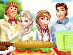 Frozen Family At The Picnic Game game