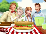 Frozen Family Picnic game