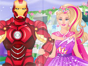 Barbie'S Superhero Wedding game