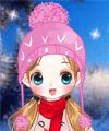 play Girl On Skis Dress Up Game