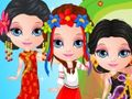 play Baby Barbie Around The World Costumes Game