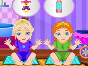 Frozen Sisters Babysitter game