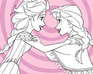 play Elsa And Anna Frozen Coloring