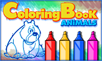 Coloring Book Animals game