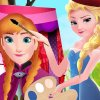 Elsa Painting Anna game