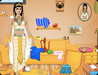 play Queen Cleopatra Room Cleaning