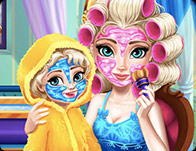 Elsa Mommy Real Makeover Game game