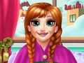 Anna Elsa Foot Check-Up game