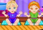 Frozen Sisters Baby game