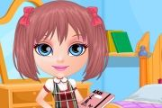 Baby Barbie: Back To School Game game