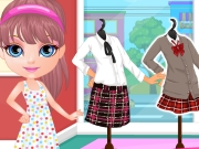 play Baby Barbie Back To School