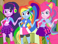 play Equestria Girls - Back To School