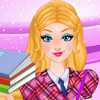 play Super Barbie Goes To School
