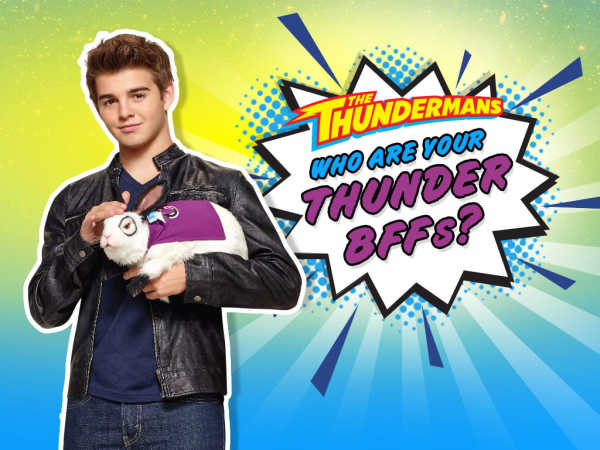 The Thundermans: Who Are Your Thunder Bffs? game