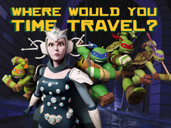 Teenage Mutant Ninja Turtles: Where Would You Time Travel? game