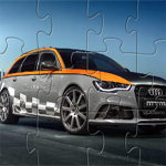 play Audi Rs6 Jigsaw