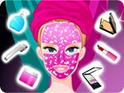 play Barbie Diamond Spa Makeover