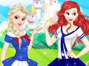play Princess College Girls
