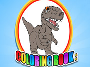 Play Coloring Book Dinosaur Game