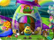 play Easter Egg House Clean Up