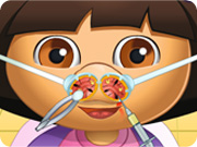 play Dora Nose Doctor 2