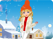 play Winter Fashion Girl Dress Up