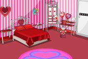 play Valentines Bedroom Escape