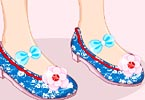 play Princess Mulan Shoes Designer