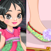 play Enjoy Princess Mulan Shoe Design