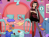 play Cerise Hood Room Cleaning