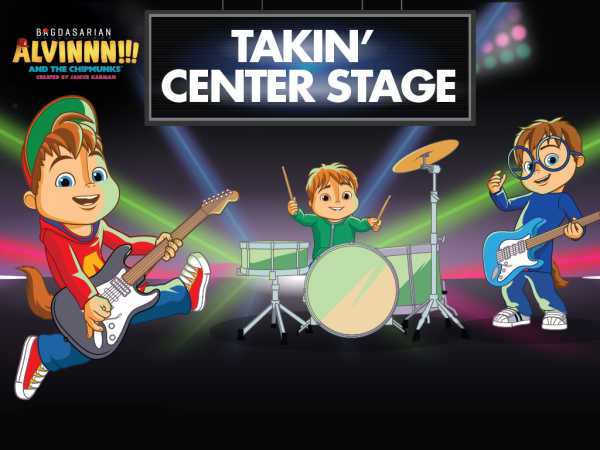 Alvinnn!!! And The Chipmunks: Takin' Center Stage Music Game game