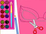 play Super Barbie Mask Designer