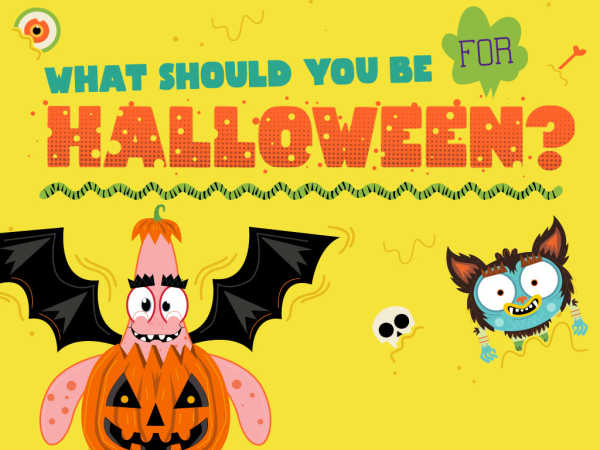 Nickelodeon: What Should You Be For Halloween? Quiz Game game