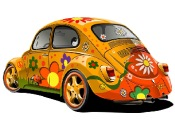 Beetle Car Jigsaw game