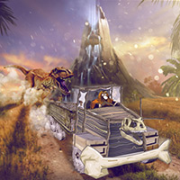 play Jurassic Cargo