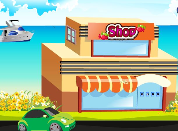 play Play9 Candy Shop Escape