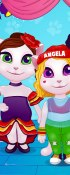 Talking Angela Dance Lessons game
