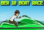 Ben 10 Boat Race game