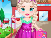 play Baby Elsa Goes To School