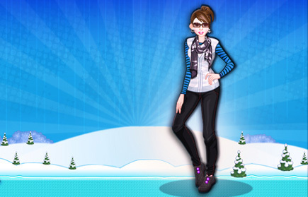 play Winter Girls Dress Up 2