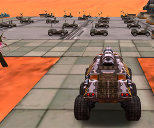 Space Moon Rover 3D Parking game