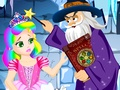 play Princess Juliet Frozen Castle