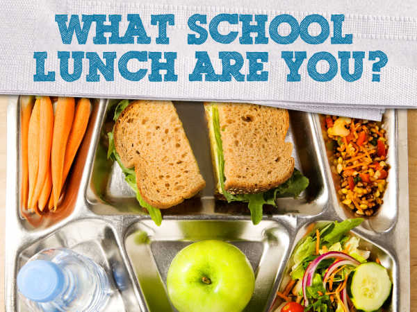 play 100 Things To Do Before High School: Which School Lunch Are You? Quiz Game